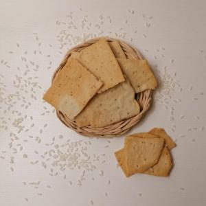 CRACKERS di RISO senza glutine
