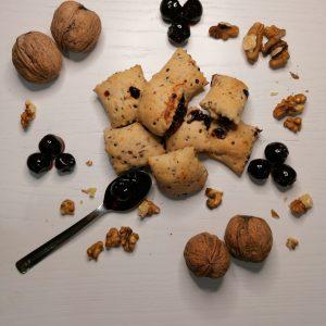 FOCACCE FRACIDE DI QUINOA all'amarena (senza glutine)