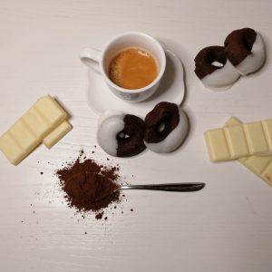 FROLLINI AL CACAO e cioccolato bianco